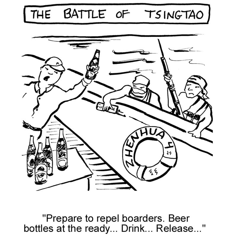Yo ho ho, and a bottle of beer
