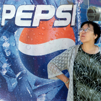 But Pepsi is Chinese, right?