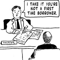 A very sub-prime borrower
