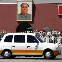 China enters top gear