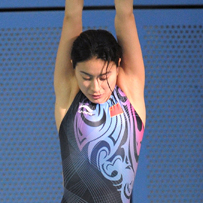 China's diving queen