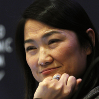 Zhang Xin gets religion