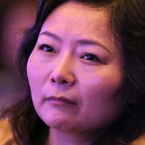 China's richest woman (for now)