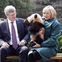 """You got pandas, we got oil"""