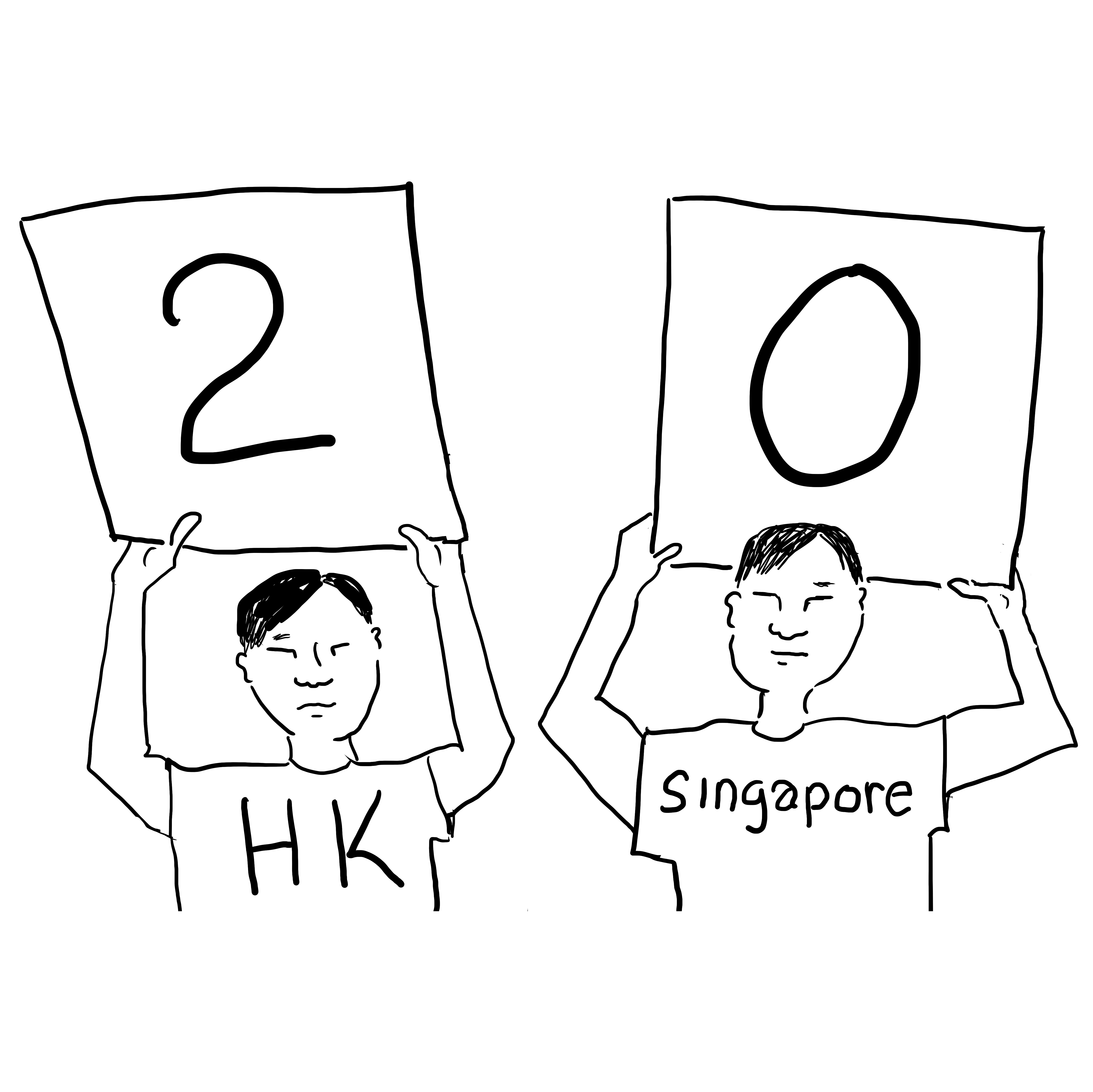 Hong Kong stretches lead