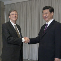 China receives Bill