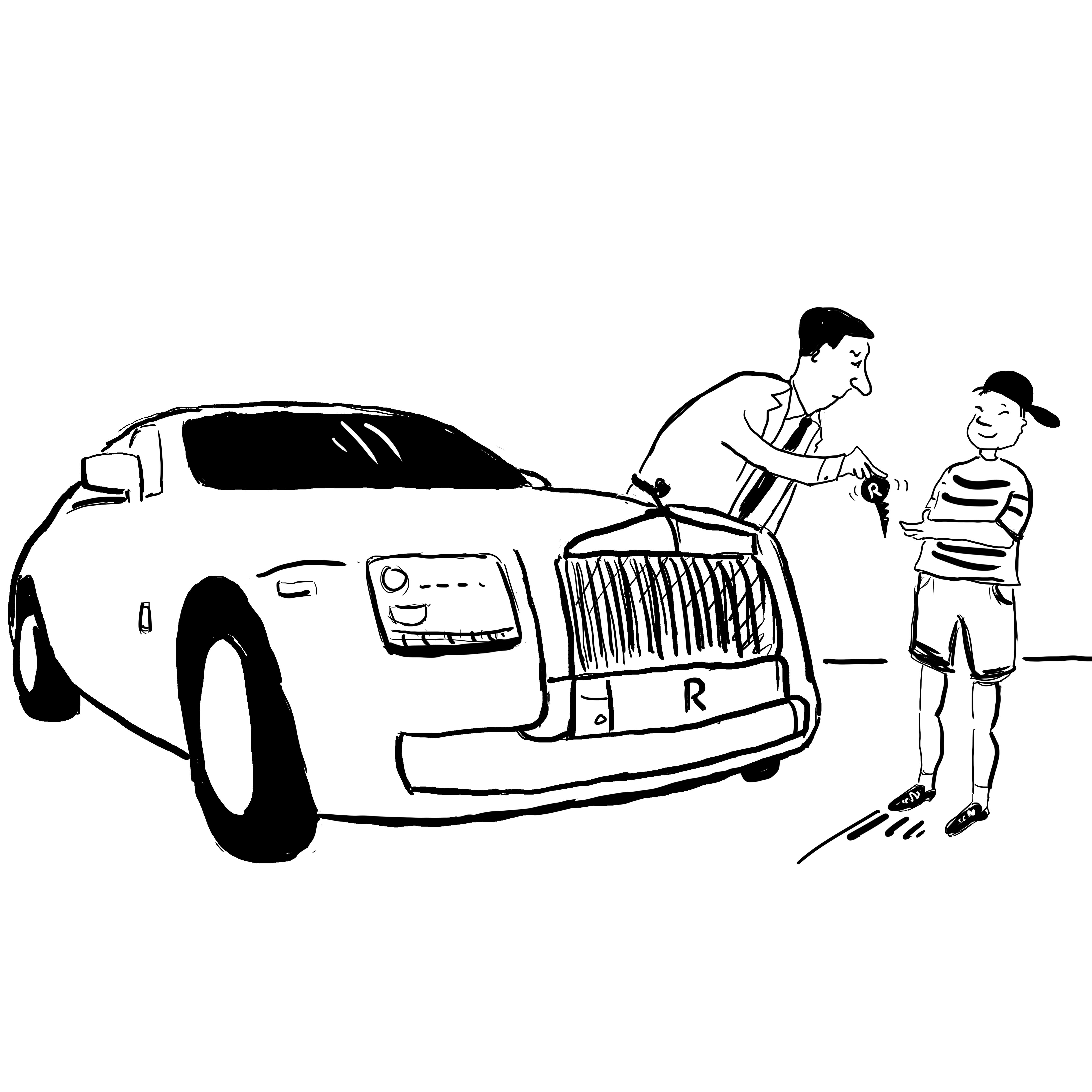 Royce on a Roll…