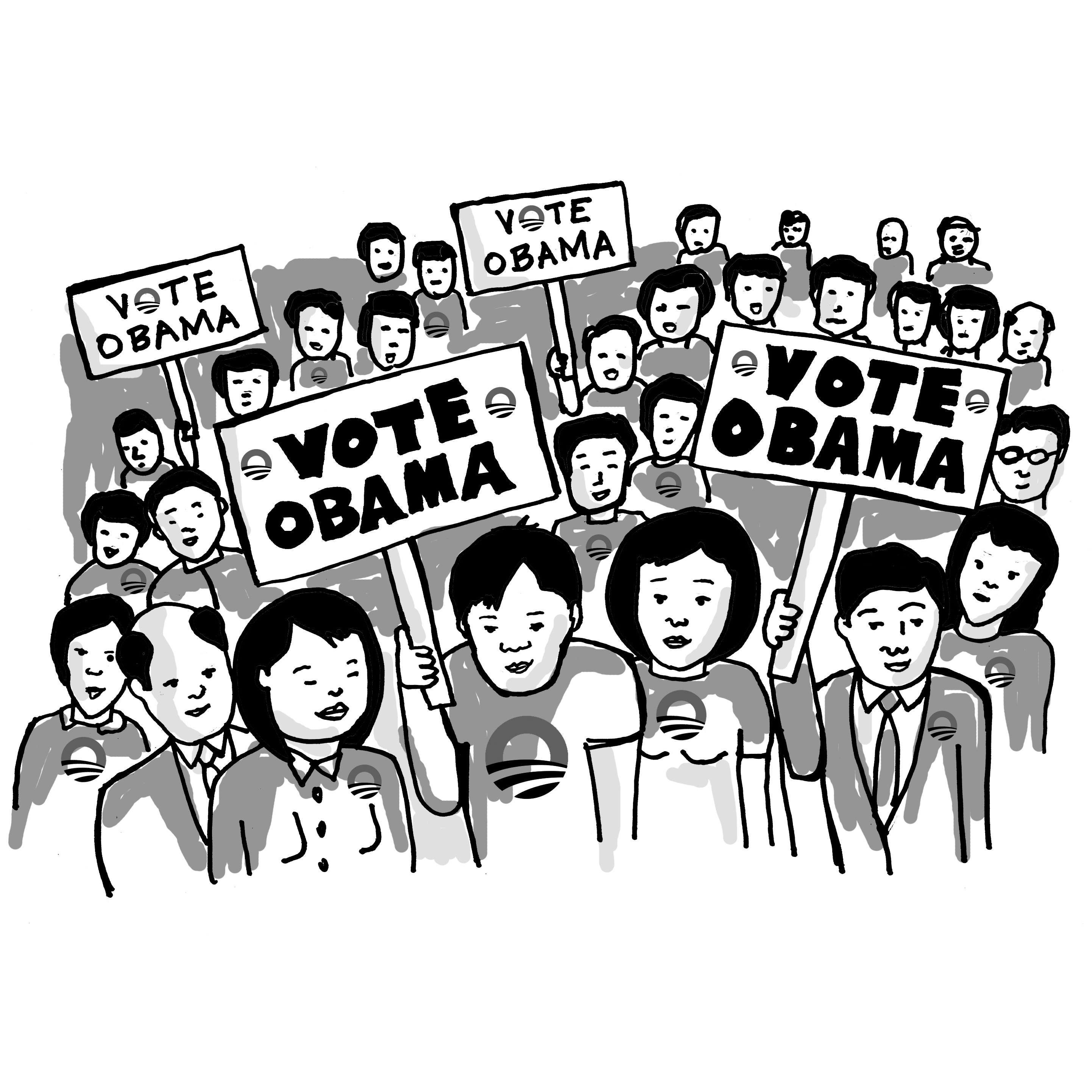 The Chinese electorate speaks…