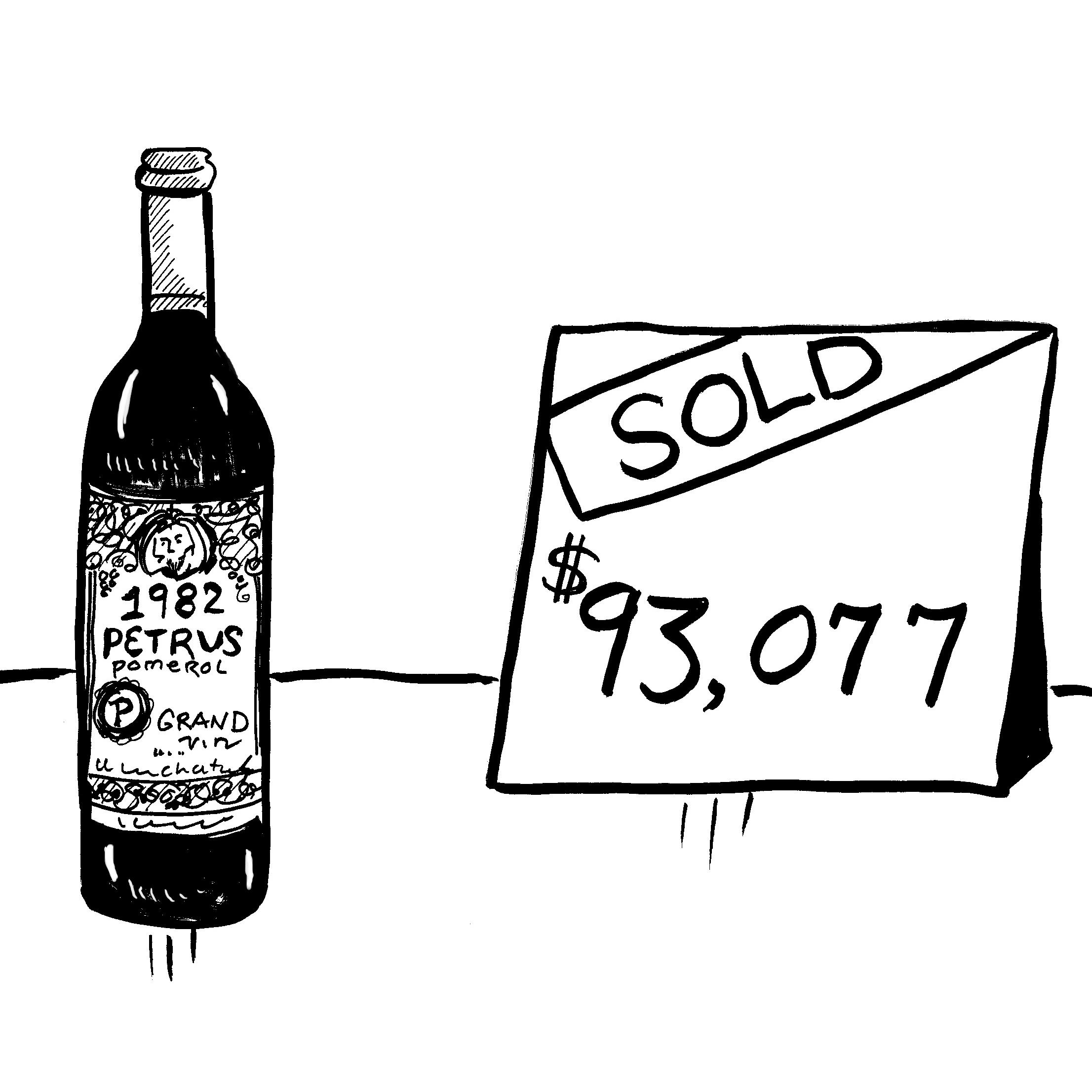 Hong Kong's record wine sale