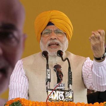 INDIA-POLL/NARENDRAMODI-BJP
