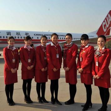 Stewardess w