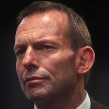 Tony Abbott w