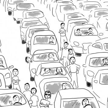 trafficjam w