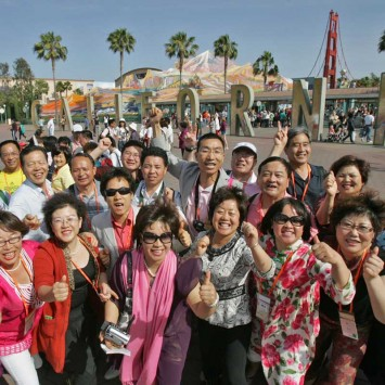 SoCal Trip for Amway's Top Chinese Sellers