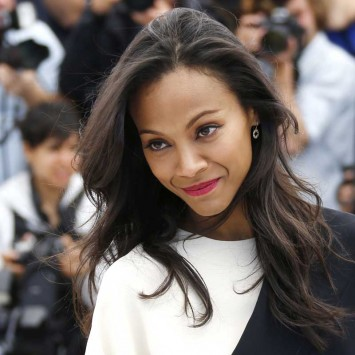 "Cast member Zoe Saldana poses during a photocall for the film ""Blood Ties"" at the 66th Cannes Film Festival"