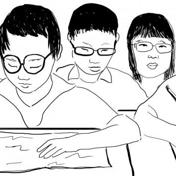glasses w