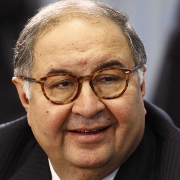 Russian businessman Usmanov takes part in a forum dedicated to preparations for the upcoming 2013 Student Olympics in Kazan