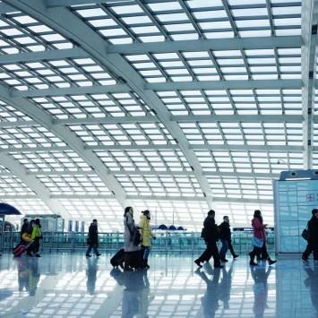 Beijing Airport w