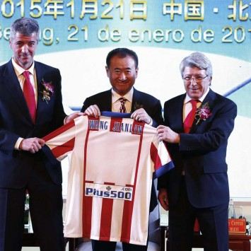 China's Wanda Group acquires stake in Atletico Madrid soccer club