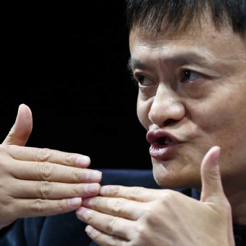 Jack Ma, Executive Chairman, Alibaba Group, speaks at the WSJD Live conference in Laguna Beach