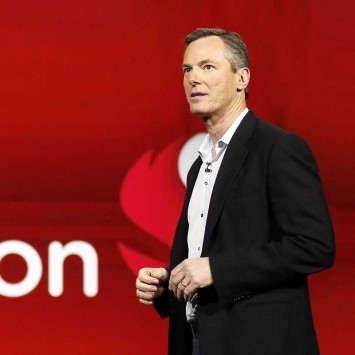 Qualcomm CEO Paul Jacobs speaks at the Qualcomm pre-show keynote at the CES in Las Vegas