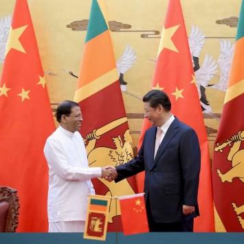 Sri Lanka's President Maithripala Sirisena Visits China