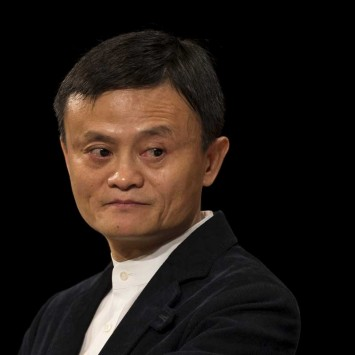 Jack Ma, Founder and Executive Chairman of Alibaba Group addresses the Economic Club of New York