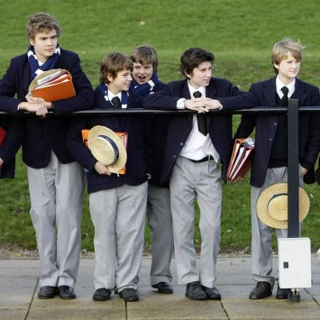 School boys of Harrow School