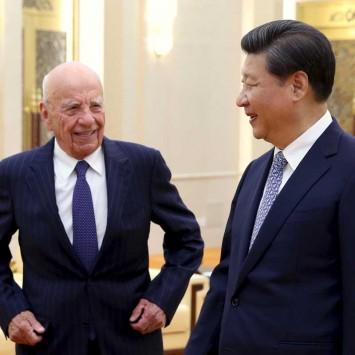 Xi  with  Murdoch