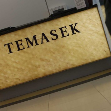 Temasek Holdings sign