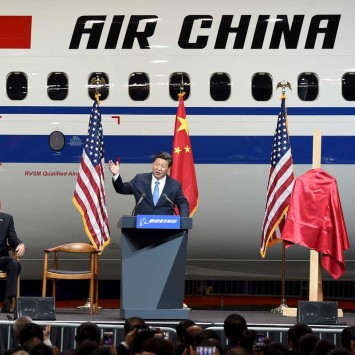 Xi at Boeing