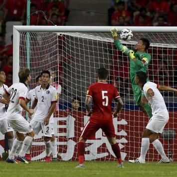 Hong Kong goalkeeper Yapp Hung-fai