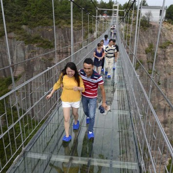 henan glass bridge