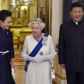 Xi, peng and the queen