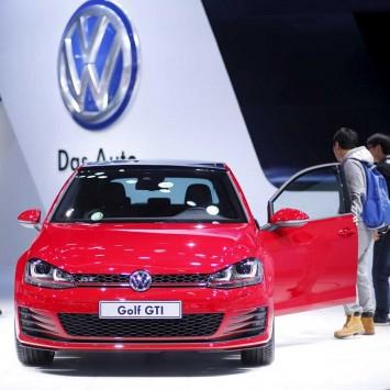 VW GTI car