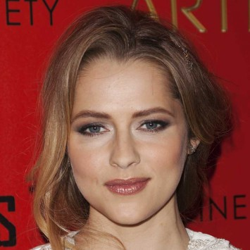 "Australian actress Teresa Palmer attends a screening of the film ""Warm Bodies"" in New York"