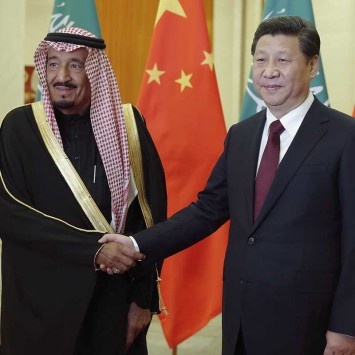 xi and king salman saudi