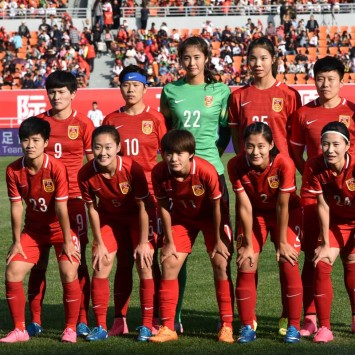 china women's football team