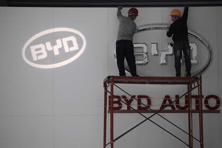 From batteries to electric cars, BYD's boss Wang Chuanfu has a bold vision