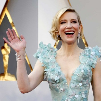 "Cate Blanchett, nominated for Best Actress for her role in ""Carol,"" arrives at the 88th Academy Awards in Hollywood"