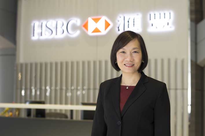 Helen Wong, leading HSBC's push into the Pearl River Delta