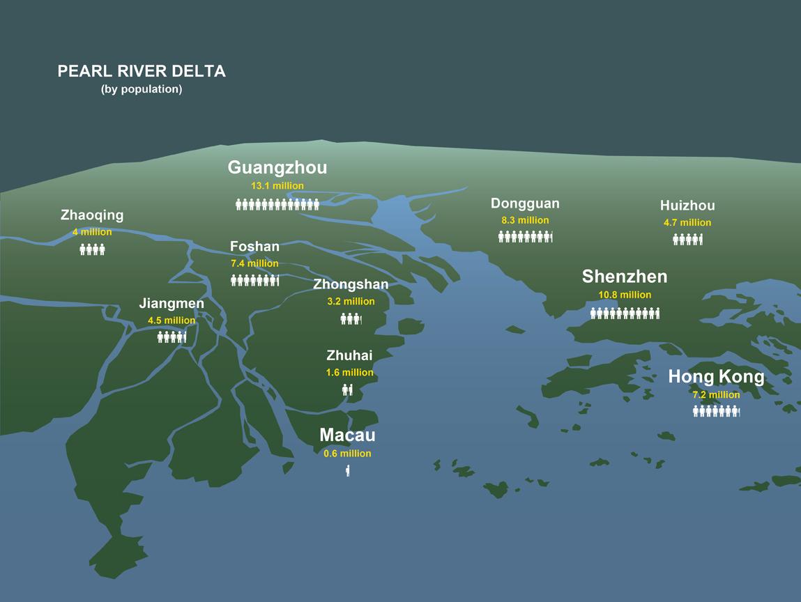 Map PRD Megacity