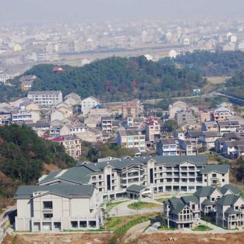 Wenzhou skyline w