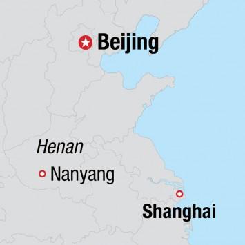 China map w