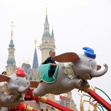 People visit Shanghai Disney Resort after the opening ceremony in Shanghai,