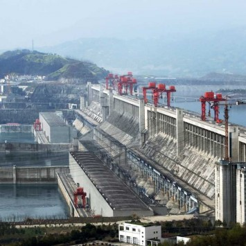 Three Gorges Dam w