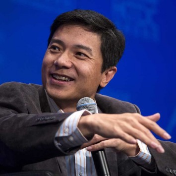 Chinese-language Internet search provider Baidu, Inc. Chairman and CEO Robin Li attends the Asian Financial Forum (AFF) in Hong Kong