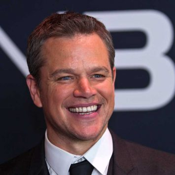 "Actor Matt Damon arrives for the Universal Pictures movie premiere of ""Jason Bourne"" at Caesars Palace hotel-casino in Las Vegas"