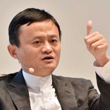 Founder and Executive Chairman of Alibaba Group Jack Ma attends St. Petersburg International Economic Forum 2016