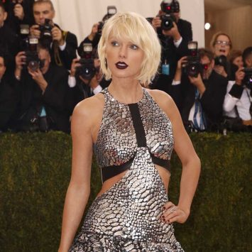 Singer-Songwriter Taylor Swift arrives at the Met Gala in New York